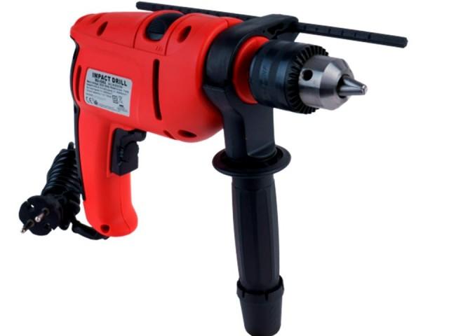 RAIDER 010105 - Ударна бормашина RAIDER Power Tools RD-ID02, Мощност: 760W, Макс. диаметър на пробиване в метал: Ø13 mm