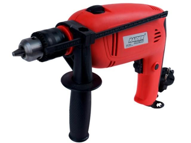 RAIDER 010119 - Ударна бормашина RAIDER Power Tools RD-ID22, Мощност: 1050W, Макс. диаметър на пробиване в метал: Ø13 mm
