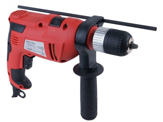 RAIDER 010129 - Ударна бормашина RAIDER Pro RDP-ID27, Мощност: 550 W, Размер патронник: Ø 1.5-13 mm, Макс. диаметър на пробиване в бетон: 16 mm