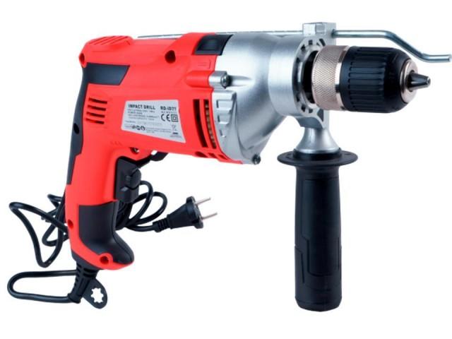 RAIDER 010131 - Ударна бормашина RAIDER Pro RDP-ID29, Мощност: 850 W, Размер патронник: Ø 1.5-13 mm, Макс. диаметър на пробиване в бетон: Ø16 mm