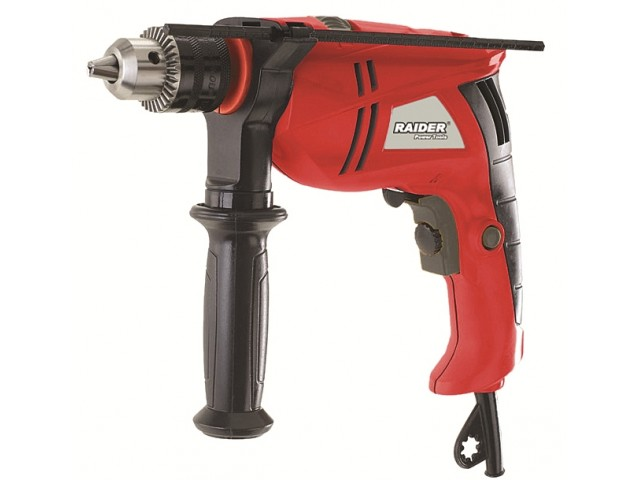 RAIDER 010135 - Ударна бормашина RAIDER Power Tools RD-ID33, Мощност: 600 W, Размер патронник: Ø13 mm, Макс. диаметър на пробиване в бетон: Ø16 mm