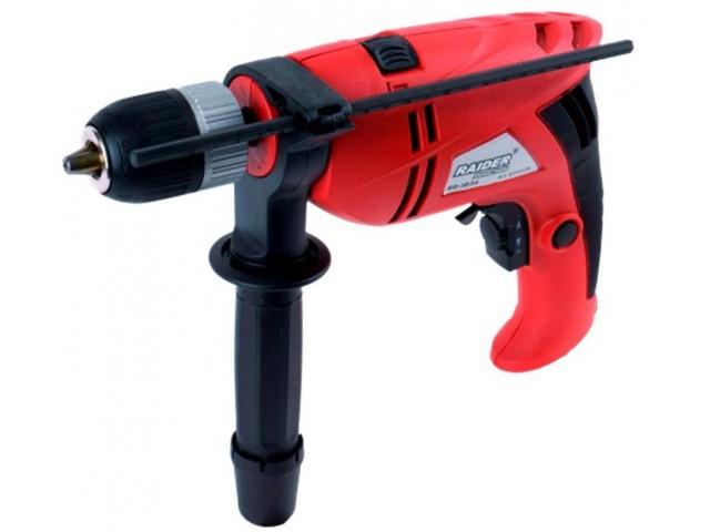 RAIDER 010136 - Ударна бормашина RAIDER Power Tools RD-ID34, Мощност: 710 W, Размер патронник: Ø13 mm, Макс. диаметър на пробиване в бетон: Ø16 mm