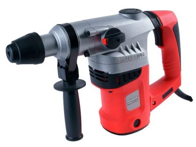 RAIDER 013111 - Къртач RAIDER Power Tools RD-HD04, Мощност: 850W, Захват: SDS-plus, Макс. диаметър на пробиване в бетон: Ø 26 mm