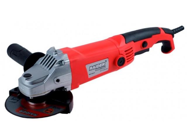 RAIDER 020139 - ЪГЛОШЛАЙФ 125mm 1200W RD-AG37