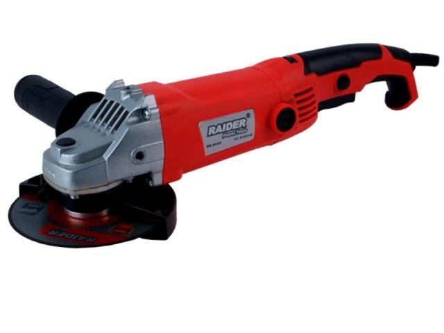 RAIDER 020140 - ЪГЛОШЛАЙФ 125mm 1150W - RD-AG39