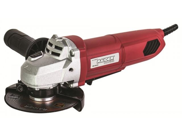 RAIDER 020147 - ЪГЛОШЛАЙФ 115mm, 600W, RD-AG49