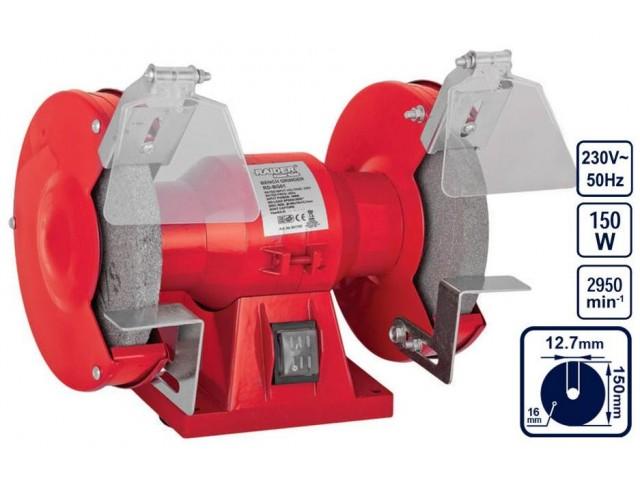 RAIDER 061102 - ШМИРГЕЛ RD-BG01, Ø150mm, 150W