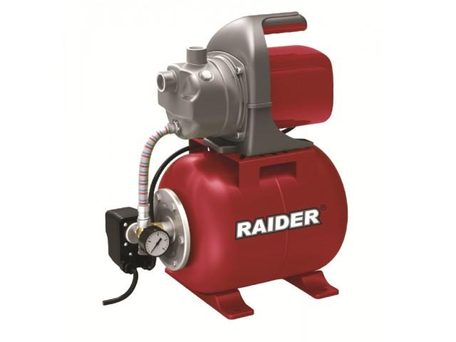 """RAIDER 071104 - ХИДРОФОР 1200W 1"""" max 64L/min 3bar RD-WP1200J"""