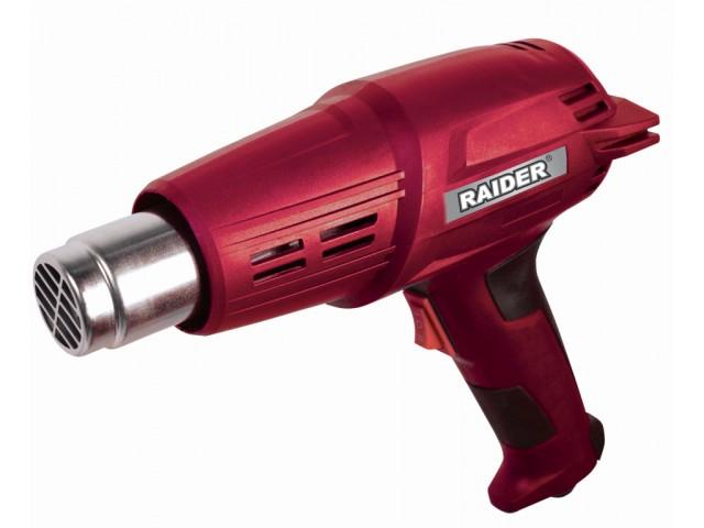 RAIDER 074306 - Пистолет за горещ въздух 2000W, 2степ., RD-HG17
