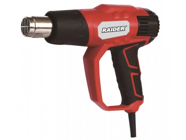 RAIDER 074311 - Пистолет за горещ въздух 2000W, RD-HG22