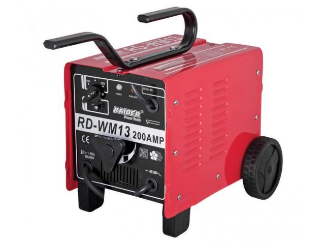 RAIDER 129943 - ЕЛЕКТРОЖЕН 200A, RD-WM13