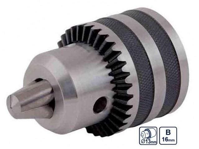RAIDER 139921 - ПАТРОННИК 13mm ЗА БОРМАШИНА, КОНУС Ø16mm, с ключ, RD-KC04