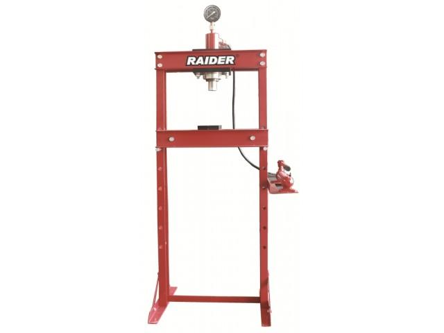 RAIDER 300606 - ПРЕСА ХИДРАВЛИЧНА 20T С МАНОМЕТЪР, RD-HP04