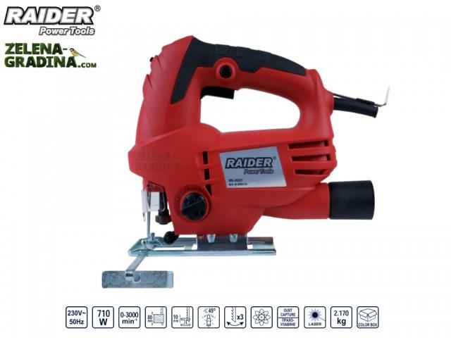 RAIDER 050113 - Прободен трион RAIDER RD-JS22T, Мощност: 710 W