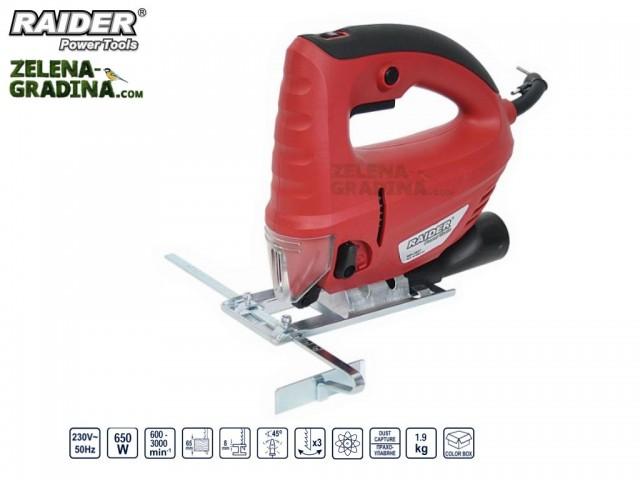 RAIDER 050121 - Прободен трион RAIDER RD-JS27, Мощност: 650 W