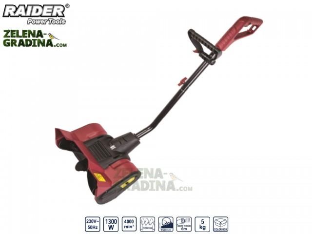 RAIDER 095105 - Електрически снегорин RAIDER RD-ST01, Мощност: 1300 W, Работна ширина: 30 cm