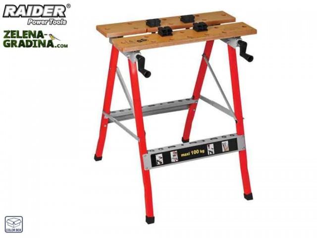 RAIDER 139905 - Маса работна-менгеме RAIDER
