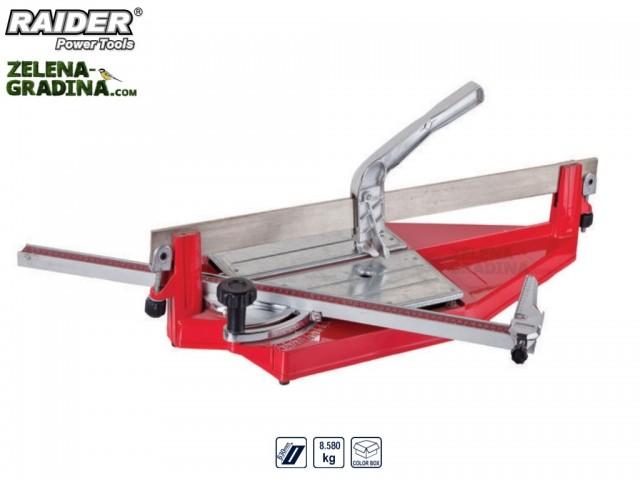 RAIDER 321509 - Ръчна професионална машина за рязане на фаянс (плочки) RAIDER RD-TC16, Дължина: 63 cm