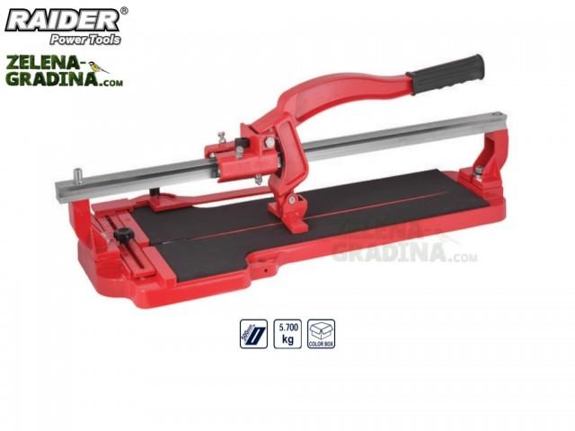 RAIDER 321510 - Ръчна професионална машина за рязане на фаянс (плочки) RAIDER RD-TC11, Дължина: 50 cm