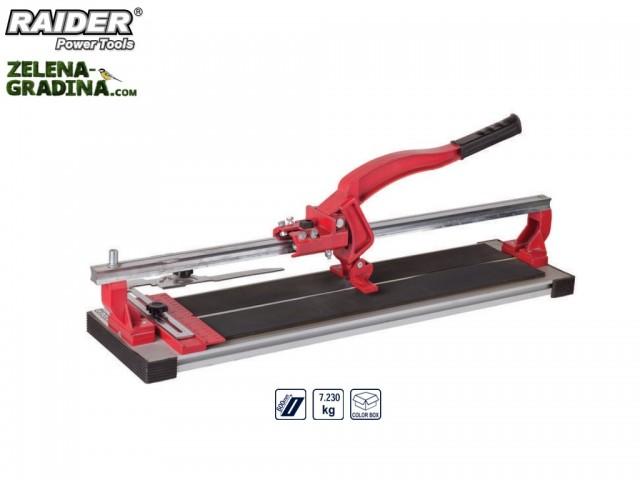 RAIDER 321514 - Ръчна професионална машина за рязане на фаянс (плочки) RAIDER RD-TC14, Дължина: 60 cm