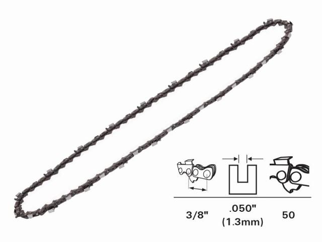 """RAIDER 140101 - ВЕРИГА ЗА ВЕРИЖЕН ТРИОН (ЕЛЕКТРИЧЕСКА РЕЗАЧКА) 3/8"""",1.3mm, 50 звена"""