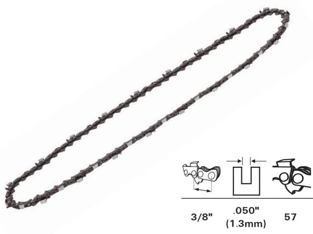 """RAIDER 140104 - ВЕРИГА ЗА ВЕРИЖЕН ТРИОН (ЕЛЕКТРИЧЕСКА РЕЗАЧКА) за RD-ECS, 3/8"""",1.3mm, 57 звена"""