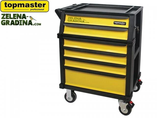 TOPMASTER 499997 - Количка за инструменти със 6 чекмеджета (без инструменти)